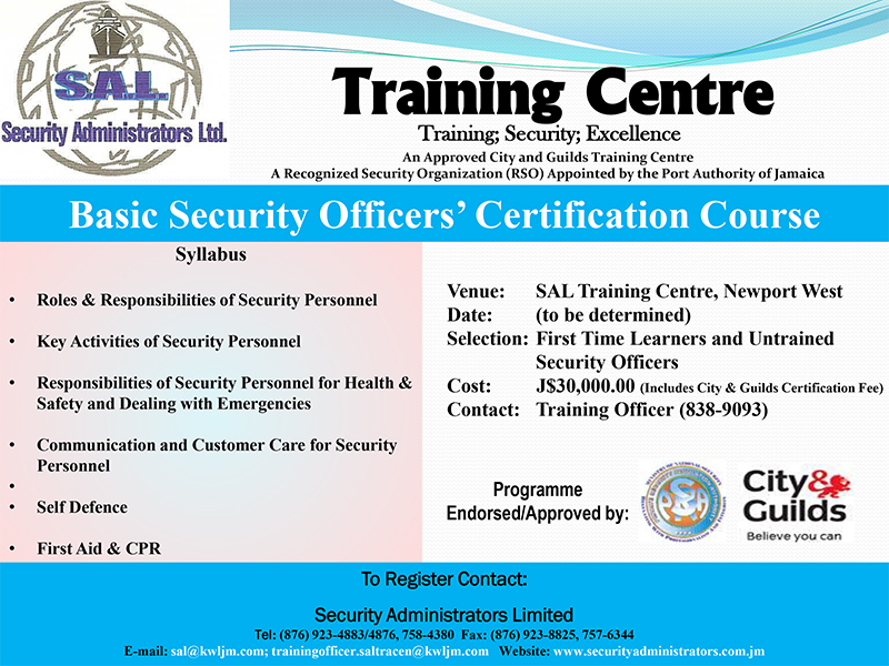Basic Security Officers Course